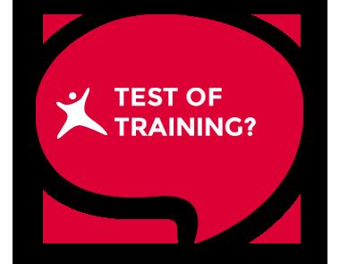 Test of training?